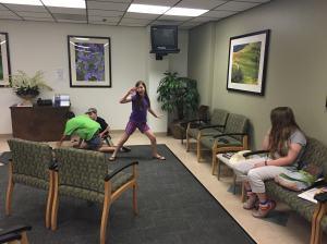 Kids in waiting room 2
